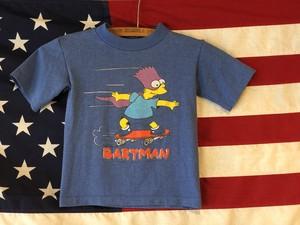 Kids 90s シンプソンズ Tシャツ 子供服 BARTMAN ジョークTシャツ