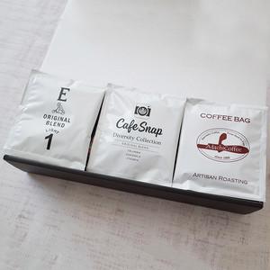 【18個:ギフトボックス(大)】豪華コーヒー店×6のドリップバッグセット