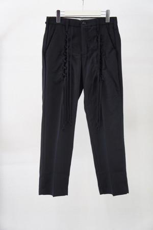 RACE UP WORK PT -BLACK- / elephant TRIBAL fabrics