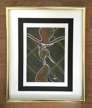 インテリア絵画 原画-P383