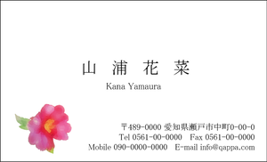 イラスト入り名刺5019 (100枚)