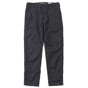 RUDE GALLERY BLACK REBEL HERRINGBONE BAKER PANTS