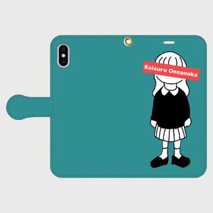 Koisuru Onnanoko iPhone用手帳型ケース