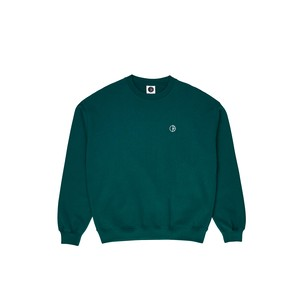 POLAR SKATE CO (ポーラー) / TEAM CREWNECK -DARK GREEN-
