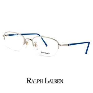 ラルフローレン メガネ rl716-pt 48mm 50mm 2サイズ 眼鏡 ralph lauren メタル ナイロール ハーフリム フレーム オーバル