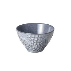 「リアン Lien」ボウル 皿 直径約11×深さ7cm M グレー 美濃焼 267812