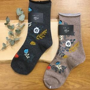 松尾ミユキ ソックス Good morning socks Plants