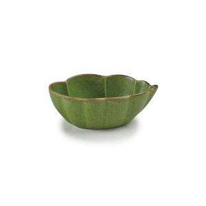 「翠 Sui」小鉢 雲形鉢 長幅13cm うぐいす 美濃焼 288206