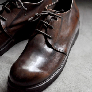HISTORY541 Round lace-up shoes Brown -mens-
