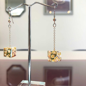 ピアス・ジュエリー / 身に纏う建築 - Earrings - JEWELRY / Wearing Architecture -Gold(K18)