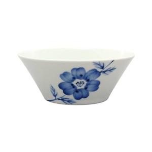 浜陶 波佐見焼 和山窯 flowers アングル ボウル 皿 小 ラインフラワー 385803