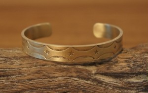 native star brass bangle