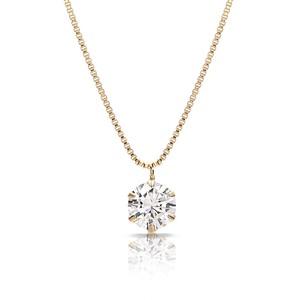 【30】0.26ct / E / VVS1 / 3EX【一粒ダイヤモンドネックレス】