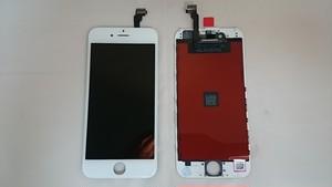 iPhone 6 (白) 修理用 フロントディスプレイガラス+液晶(LCD)+タッチパネル