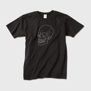 downward 55 The Skull Beneath the Skin TEE(Black)