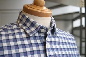 CARLO カシミヤタッチワイヤー入りシャツ (#7864)