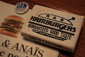 Stamp 『NEW HAMBURGERS』