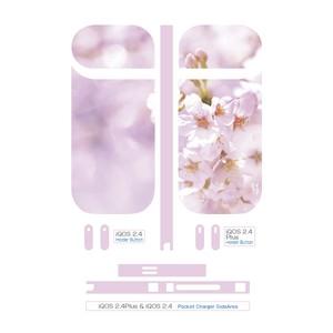 Original iQOS 2.4 Plus & iQOS 2.4 SkinSeal 桜