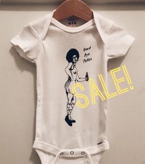 【Sample Sale!】Hey, Mama onesie (Goodbye fellas)