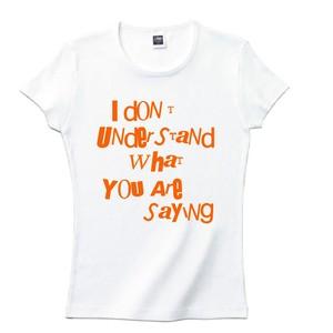 idon't Tシャツ(レディース)