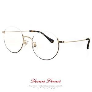 メガネ アンダーリム ラウンド型 2364-62 レディース メンズ ユニセックス モデル 眼鏡 丸メガネ 丸眼鏡 コンビネーションフレーム