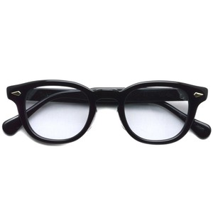 TART OPTICAL ARNEL タートオプティカル アーネル / JD-04 / 001 BLACK ブラック メガネ フレーム【復刻 レプリカ 日本製