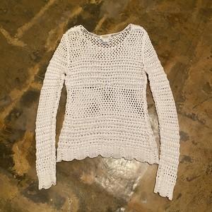 Crochet knit / Talbots