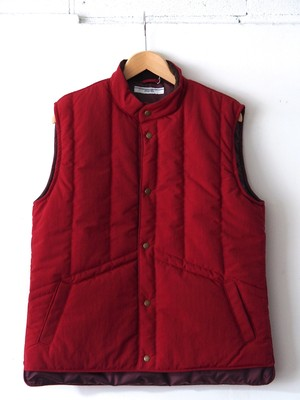 FUJITO Ski Vest Burgundy,Brown,Navy