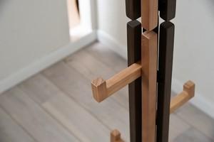 Villa Hanger Rack WB / 西海岸リゾートスタイル ヴィラ ハンガーラック / ウォールナットブラウン