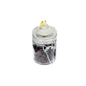 TCRM-008 カエル付きガラスストッカー(S) + コーヒー豆(15g) ● 麻覇王