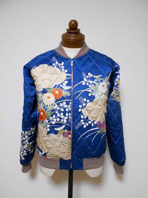 キルティング着物スカジャン  Quilted Kimono Sukajan SK-200/M