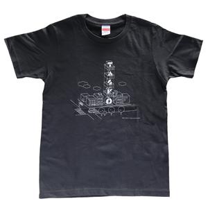 TASKO「YUTENJI」 Tシャツ スミクロ&ホワイト