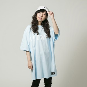 Big Silhouette T-shirt Sherbet blue
