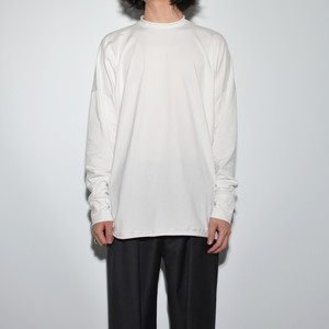 All Matching Long Sleeve 〈月白 / White〉