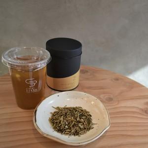 【人気No.2】ふくみどり - 棒ほうじ茶 - 茶缶100g茶葉/100g粉末/20個ティーバッグ