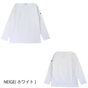 SAINT JAMES OUESSANT SOLID(無地)NEIGE(ホワイト)正規取扱品 NEIGE(白)