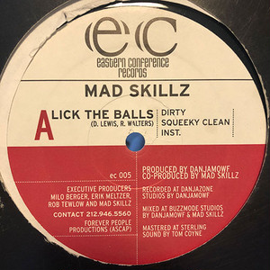 Mad Skillz - Lick The Balls / The Conceited Bastard (12inch) DANJAMOWF [hiphop] 試聴 fps200521-6