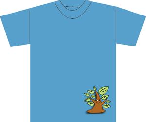 受注作品Tシャツ(とやまあおいアバター3)