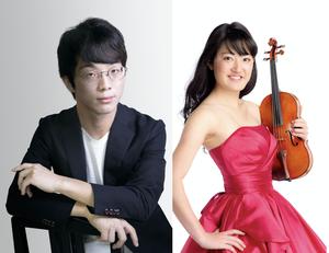 7/24  松田龍&吉江美桜 ヴァイオリンとピアノのコンサート