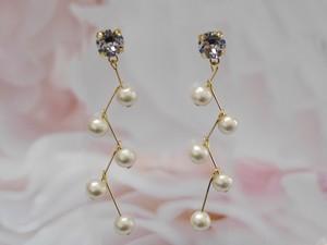 Swing Pearls 【14kgfピアス】イヤリングご希望の方は備考欄へ