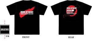 ★在庫僅少★2018JAPAN Tシャツ/IRON ATTACK!