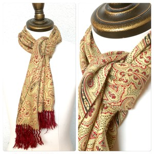 1960s Tootal Scarf Made in England SC_811