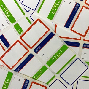 EGGSHELL STICKERS MINI BLANKS
