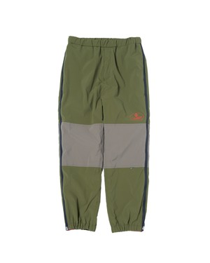 """Last one!""  Zip Track Pants / OLIVE"