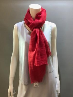 FATTORSETA(ファットルセタ) P3561/PLain  麻(リネン)100% 無地スカーフ