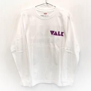 WALK Long Tee (白ボディ)