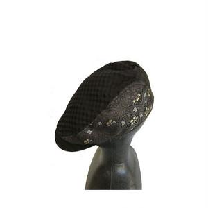 西陣織ハンチング帽HT0030 サイズ M.S