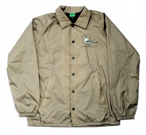 ANTIHERO PIGEON WINDBREAKER COACH JACKET GREY M アンチヒーロー コーチジャケット