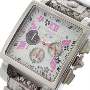 コグ COGU 桜 SAKURA 流通限定 クロノグラフ メンズ 腕時計 BNSKR-WH ホワイト