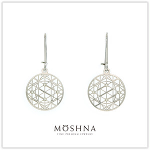 【MOSHNA:モシュナ】SILVER EARRINGS STAR TRAIL ピアス